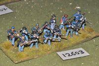25mm ACW / union - american civil war infantry plastic 14 figs - inf (12603)
