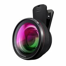 BC Master 2-in-1 Phone Lens Kit 58mm 110 wide Angle + 15x Macro Lens