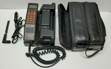 Vintage Ericsson Hotline 2112 Mobile Car Phone Cell Retro Carrying Case Charger