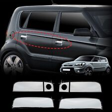 Chrome Door Handle Molding Trim 6Pcs 1Set(Fit: KIA SOUL 2008 2009 2010 2011)