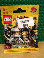 LEGO 8683 SERIES 1 .SKATER BOY BRAND NEW SEALED