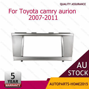 For Toyota Camry Aurion 2006-2011 radio Double 2 Din fascia dash panel facia kit