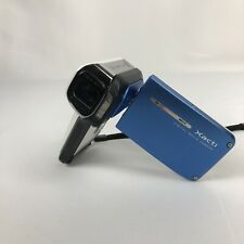 Sanyo Xacti VPC-E2 Water Proof Digital Movie Camera Tested, Blue - No Charger
