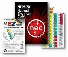 2020 National Electrical Code NEC Paperback Softbound w/ EZ Tabs Formula Study.