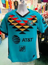 Nike Club America Third Soccer Men's Jersey, Size XXL - Teal