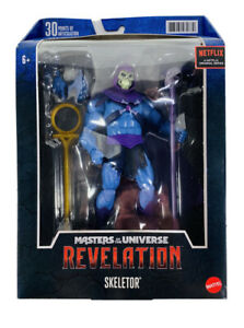 MOTU Revelation Masters Of The Universe Skeletor Netflix Figure 2021 New Hasbro