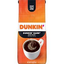 New listing Dunkin' Dark Roast Ground Coffee, 11 Ounces