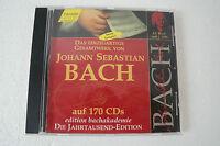 Johann Sebastian Bach - Die Jahrtausend-Edition, CD (Box 65)