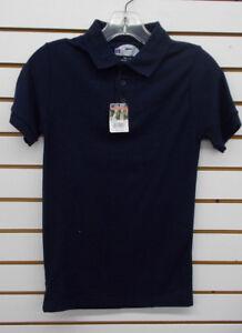 Boys Preferred School Uniform Navy Polo Shirt Sizes 10/12 & 18/20