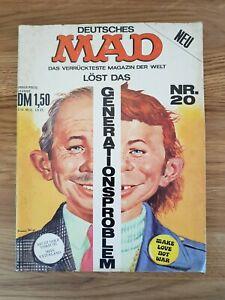 Deutsches MAD Heft Nr. 20 - Generationsproblem (alte Serie)