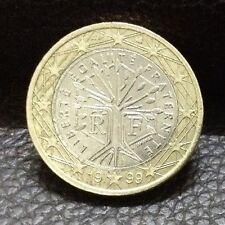 """1 EURO Coin 1999 France """"Liberté, égalité, Fraternité"""""""