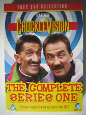 CHUCKLE BROTHERS - CHUCKLEVISION SERIES 1 (1987) - 13 shows on four DVDs