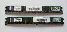 Kingston KTL2975C6/2G 2x2GB (PC2-6400) DDR2-800Mhz Low-Profile 1.8V Desktop RAM
