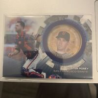 2020 Topps Update Coin Cards #TBCBP Buster Posey Giants