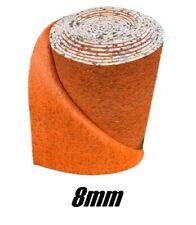 8mm - Foam Carpet Underlay - High Quality Luxury Cushion - Cheap FULL ROLL 15m2