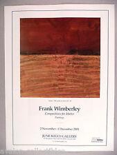 Frank Wimberley Art Gallery Exhibit PRINT AD -  2001