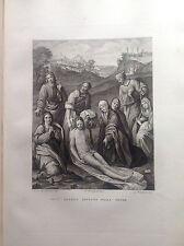 F. ROSASPINA GESU' CRISTO DEPOSTO DALLA CROCE da  Nicola da Cremona 1830