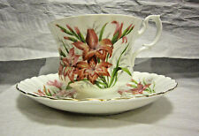 Royal Albert Bone China England Cup and Saucer Floral Design