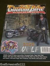 CUSTOM BIKE - TIGER WOLF - DEC 1993