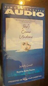 She's Come Undone by Wally Lamb (1997, Cassette, Abridged)