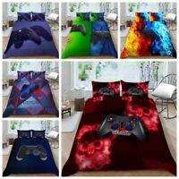 Milsleep Gamepad Bedding Set for Boys Game Design Kids Duvet Cover Set