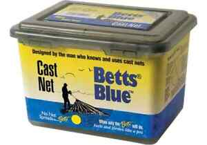 "BETTS BLUE 1/2"" MESH 6FT PROFESSIONAL SERIES CAST NET"