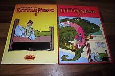 Winsor McCay -- LITTLE NEMO  # 1 & 2  // Hardcover von 1982