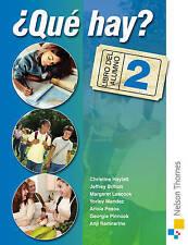 Que Hay? Libro Del Alumno 2: Junior Secondary Spanish Textbook BNew