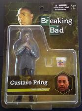 GUSTAVO FRING  BREAKING BAD  ACTION FIGURE + LOS POLLOS   Mezco Toys