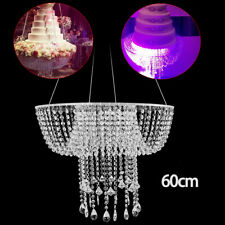 Venue Decorations Wedding Party Cake Stand Transparent Crystal beads Supplies