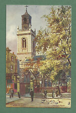 1910'S CHARLES E. FLOWER PC ST. MARY THE VIRGIN ALDERMANBURY - RAPHAEL TUCK
