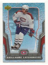 2007-08 Upper Deck McDonald's - #27 - Guillaume Latendresse - Montreal Canadiens