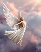 ANNE STOKES ART ASCENDANCE ANGEL - 3D FANTASY PICTURE PRINT LARGE 300mm X 400mm