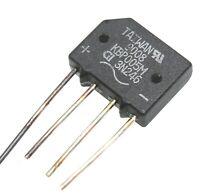 KBP005M 1.5 Amps, 50 Volts Bridge Rectifier - Lot of 1, 5, or 10.