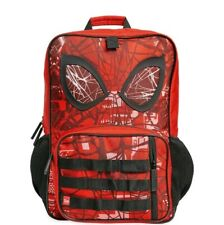 Disney SpiderMan Bag School Boys Backpack with 3D Eyes on the front - Nwt