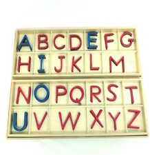 New Montessori Language - Large Capital Case Movable Alphabet in Boxes