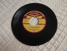BOBBY BLUE BLAND  YOU DID ME WRONG/I LOST SIGHT ON THE WORLD  DUKE 300