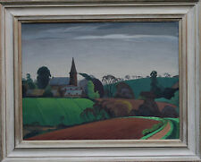 HAROLD GASTER  BRITISH LANDSCAPE OIL PAINTING ART 1906-1986