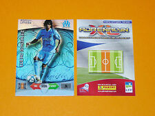 LUCHO MARSEILLE OM EDITION LIMITEE FOOTBALL FOOT ADRENALYN CARD PANINI 2010-2011