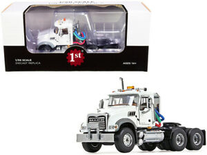 Mack Granite MP Engine Series Truck Tractor White 1/50 Diecast Model  First Gear