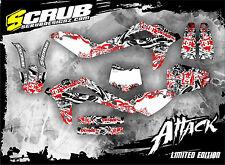 SCRUB Husqvarna TC 450-510 2008-2010 '08 '10 Grafik Dekor-Set