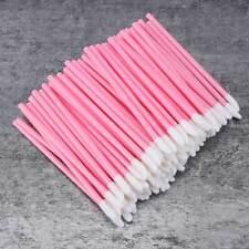 100pcs Disposable Lip Gloss Applicators Make up Brushes Lipstick Wand Tool Kits
