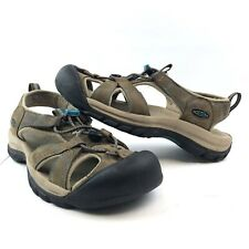 Keen Venice Brown Leather Waterproof Water Sport Hiking Sandals Womens Size 8