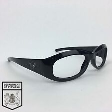 EMPORIO ARMANI eyeglass BLACK frame OVAL Authentic. MOD: EA 9138/S