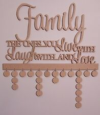 Family Wooden birthday calendar event reminder home decor MDF Wooden Letters