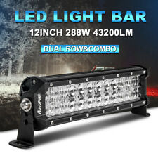 CREE 12inch LED Light Bar Spot & Flood Combo Off road Truck Boat ATV 4WD SUV New