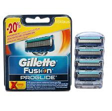 4 Gillette Fusion ProGlide Lames de Rasoir - 4er Blister également pour Power utilisables