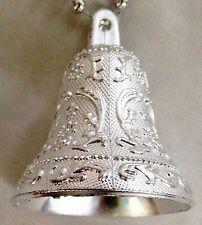 "Silvertone 108"" Garland of 2 1/4"" Bells Decoration"