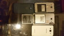 Verizon Blue Galaxy J1 8gb and unlocked white J3 16gb parts combo