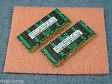 Laptop Memory RAM ●2GB (2x1GB) ●200 Pin SODIMM ●DDR2 667 Mhz ●PC2-5300 PC2-5300S